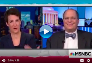 Rosenzweig on The Rachel Maddow Show
